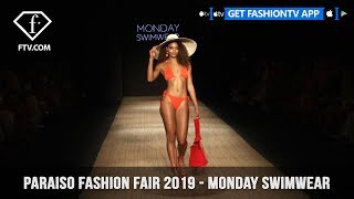 Monday Swimwear Shoppable Runway Paraiso Fashion Fair 2019  | FashionTV | FTV
