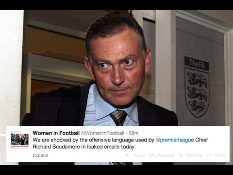 Sexist Scudamore should be sacked