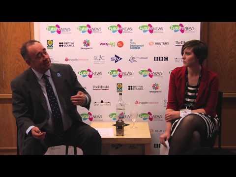 FutureNEWS meets Alex Salmond for a Q&A session, August 1st 2014.