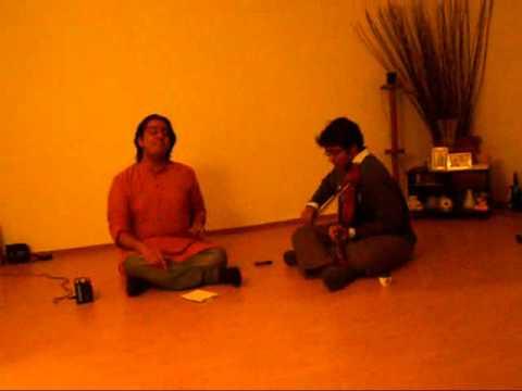 Vathapi Ganapathim - Hamsadhwani part1 - Sandeep Kalathimekkad...