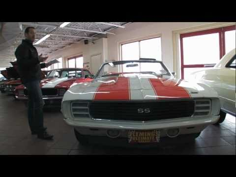 1969 Chevrolet Camaro RS SS 396 Convertible Indy Pace for sale with test drive. walk through video