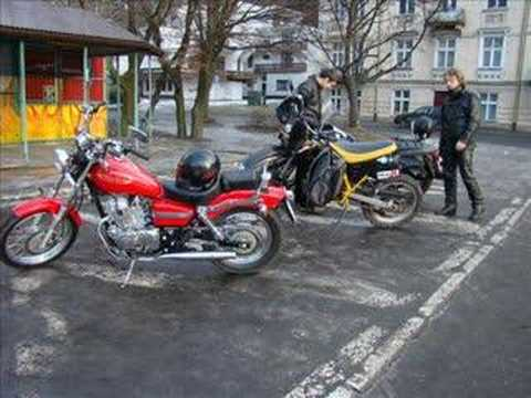 Yamaha Drag Star 1100 , Honda Rebel , Sachs ZX Video