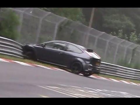 Crash Ford Focus ST Nordschleife Nürburgring Touristenfahrten 23.07.2016