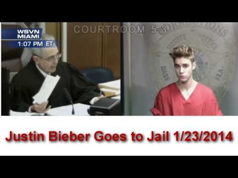Justin Bieber Gets Arrested [FULL VIDEO][Miami]