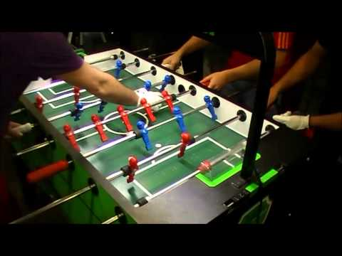 FINAL ESPAÑA DE FUTBOLIN PROFESIONAL 2012 (PAREJAS)