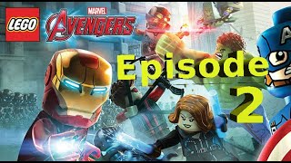 Lego Marvel Avengers PS4 Gameplay - Episode 2 - 'Struck off the list' and 'A Loki Entrance'