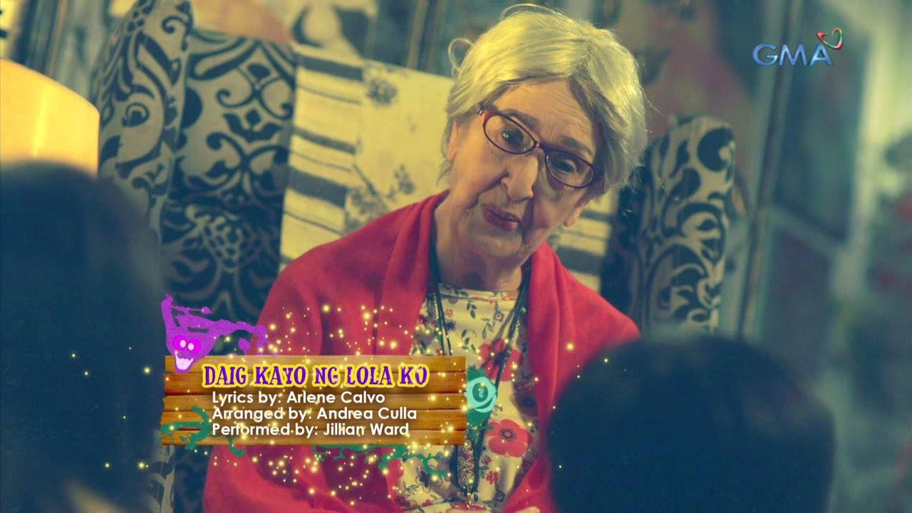'Daig Kayo Ng Lola Ko' official theme song