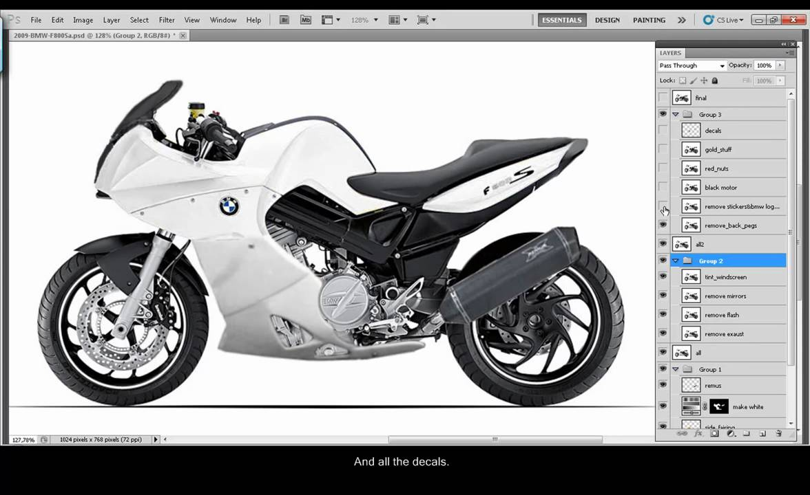 virtual customization of a bmw f800s the best bike ever. Black Bedroom Furniture Sets. Home Design Ideas