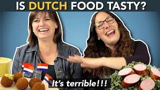 Wat vinden buitenlanders van de Nederlandse keuken?