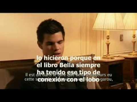 Entrevista Taylor Lautner en Francia Subtitulado español