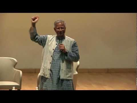 Public Lecture for Youths by Prof Muhammad Yunus [Social Business Week 2012]