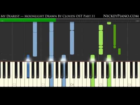 【Piano Tutorial】朴寶劍 박보검 Park Bo Gum - 我的人 내사람 My dearest - 雲畫的月光 구르미 그린 달빛 OST Part.11 #1