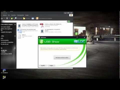 Como recuperar archivos ocultos o borrados de mi USB