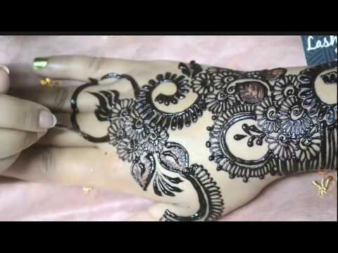 Bridal Mehndi Design 2018 | Latest Fashion Mehndi Design | Dhulan Mehndi Designs | ASMA BILAL