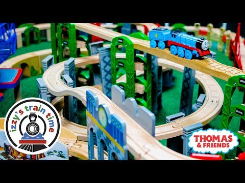 Thomas and Friends ELEVATED ROLLER COASTER TRACK! Fun Toy Trains for Kids | Thomas Train with Brio