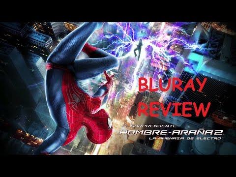 El sorprendente hombre araña 2: La amenaza de Electro Bluray 3D Review
