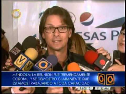 """Lorenzo Mendoza revela las """"4 cosas"""" que le dijo el Presidente Maduro"""