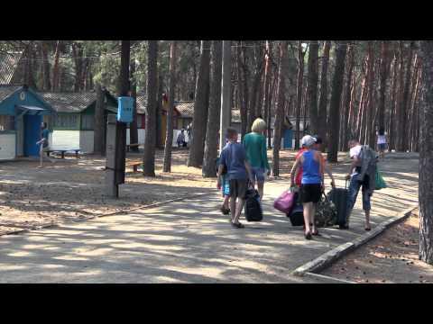 Заезд в лагерь Орлёнок первая смена 2014 года
