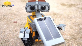LEGO 21303 Real Solar-powered Wall-E MOD review by 뿡대디