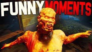 Black Ops 3 Zombies Funny Moments - Zetsubou No Shima Easter Egg Complete!