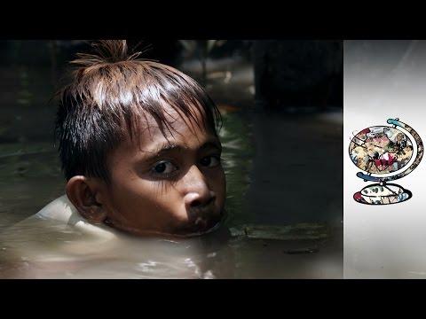 The Children Risking Their Lives In Underwater Gold Mines