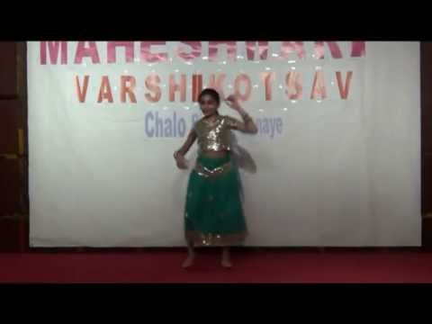Main To Bhool Chali Babul Ka Des - Dance Performance By Udita...
