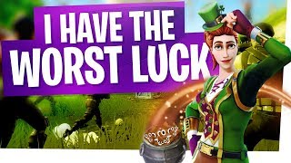 I HAVE THE WORST LUCK! - Fortnite Funny Moments & Fails