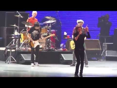 The Rolling Stones - Start Me Up (at Honda Center 5/18/13)