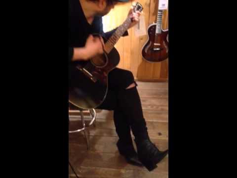 Fernando of Menage at Guitar Center Hollywood