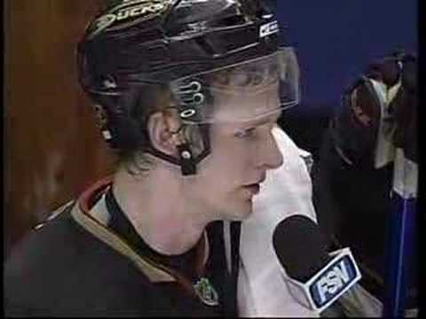 Anaheim Ducks Corey Perry first intermission interview