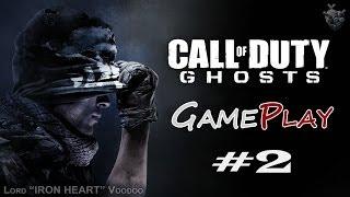 Прохождение игры Call of Duty: Ghost - Серия 2 [Павший Призрак] Геймплей CoD: Ghost