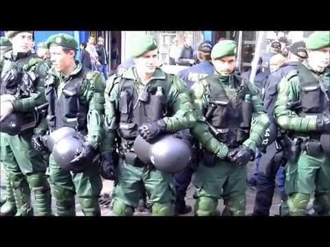 Polizei mit Großaufgebot schützt Freitagsgebete in Hamburg