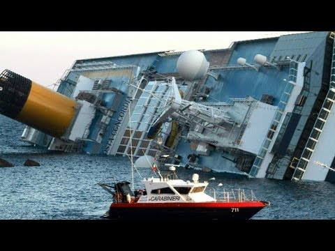 Italy cruise ship crash was 'chaos'