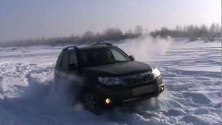 Forester 2011 (2.5л) по снегу