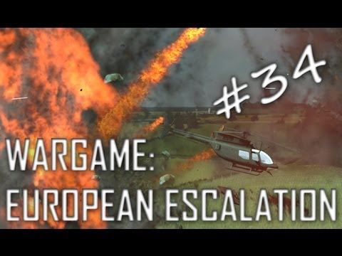 Wargame: European Escalation Gameplay #34 Surrounding Presence (Airfield, 3v3)