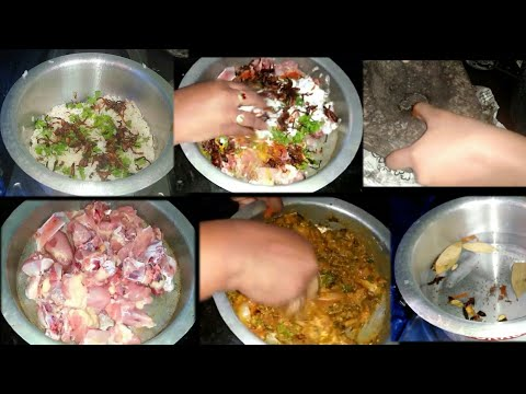Sunday vlog in Telugu  || Hyderabad chicken dum birayani preparation in telugu