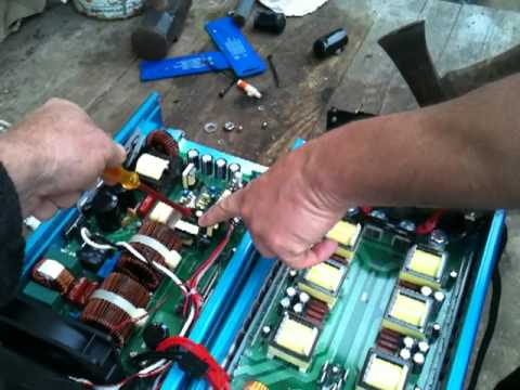 PowerJack Inverter Repair...Watch before buying one.