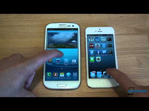 iPhone 5 vs. Galaxy S III