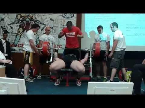 280 kg Bench Press RAW Serba Rade Savic podczas ME Trutnov 2014 | StudioOdżywek.pl |