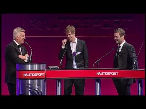 Sebastian Vettel, 2012 Autosport Awards Speech