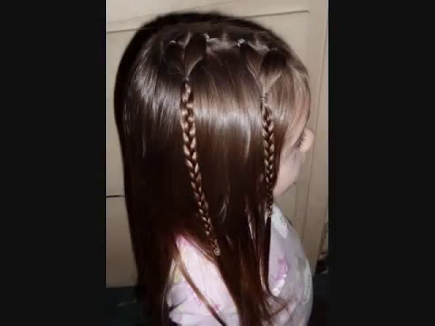 Kids Hairstyles, Cute Cornrows and More! Video 2 [[FREESTYLE HAIR]]
