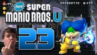 Let's Play New Super Mario Bros U Part 23: Verrückter Gamer rastet beim Ludwigfight aus