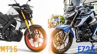 MT15 VS FZ 25 | MT15 COMPARED WITH FZ25 | RICH INDIA MOTO