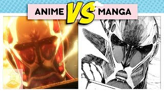 Attack on Titan Differences: The Fall of Shiganshina Arc - Anime Vs. Manga | Get In The Robot