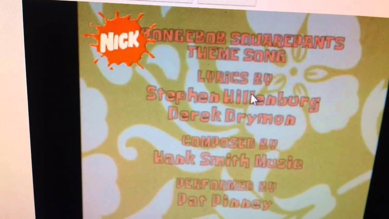 spongebob squarepants with klaskycsupo theme tune 1998