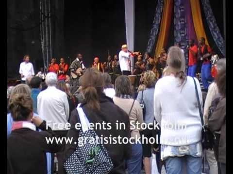 Triple & Touch & Star School Choir, South Africa - Live at Stockholms Kulturfestival 2008