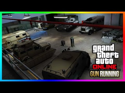 NEW GTA Online Gunrunning DLC Trailer Concepts - Military Vehicles, Weapons & MORE! (Fan-Made DLC)