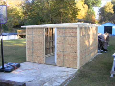 pallet shed 2 - YouTube