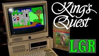 LGR - King's Quest - PCjr Game Review