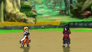 Naruto Hokage VS War Madara in M U G E N